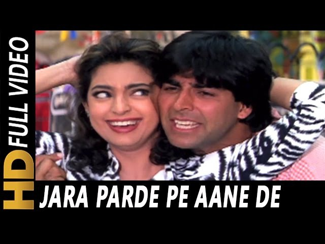 Jara Parde Pe Aane De | Udit Narayan, Poornima | Mr. And Mrs. Khiladi 1997 Songs | Akshay Kumar