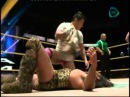 CMLL Titan c vs El Barbaro Cavernario w Bobby Zavala Mexican National Welterweight Title Two Out Of Three Falls Match 29 07 2014