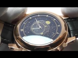 Набор мужское портмоне Montblanc и мужские часы часы Patek Philippe