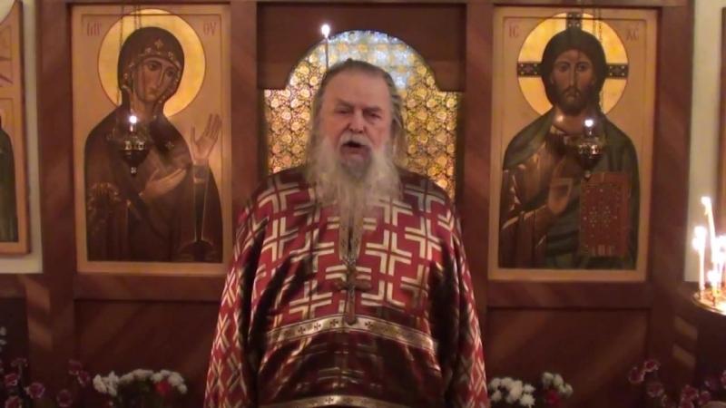 Священник Павел Адельгейм Проповедь на Литургии в Прощенное воскресенье в храме свв Жён мироносиц Псков 17 3 2013