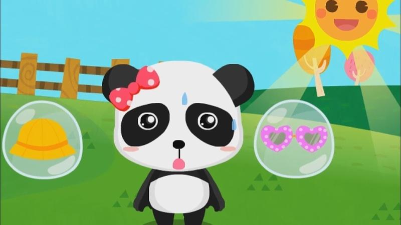 Малыш Панда. Знакомство с погодой. Панда Кики (Умка Тв)
