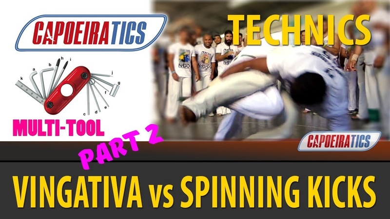 V for VINGATIVA: COMBAT SWEEP vs SPINNING KICKS (part 2)