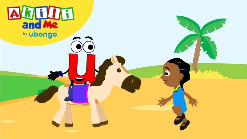 Meet Letter U! | Learn the Alphabet with Akili | Cartoons from Africa for Preschoolers