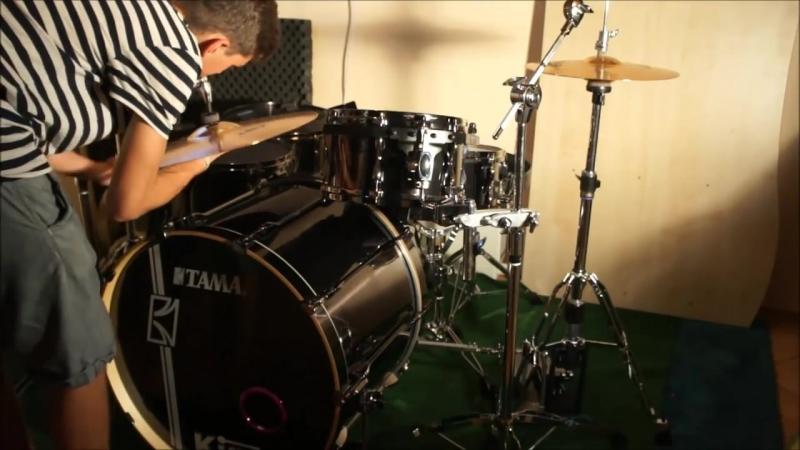 Tama Superstar Hyperdrive\Drumkit setup timelapse
