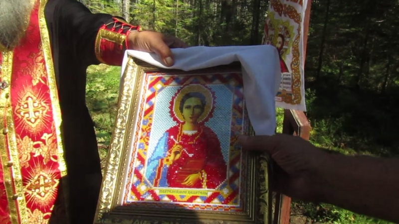 9 августа 2018 года - Святой источник во имя Великомученика и Целителя Пантелеимона