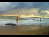 Море волнуется - раз... (Крым, Саки, база отдыха
