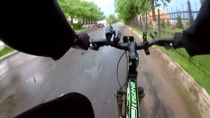Велопрогулка по городу Окуловка 29 мая 2019 .