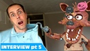 Fnaf foxy in real life comedy you won't believe what his hook's for