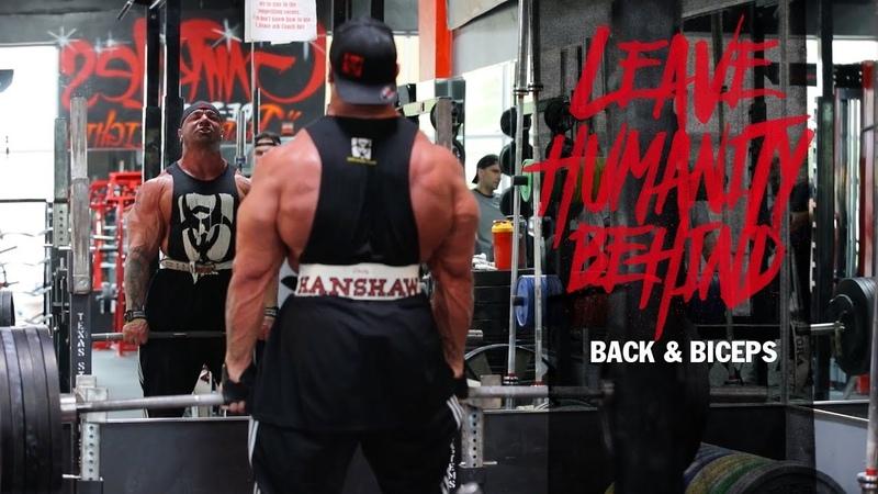 MUTANT - LHB IFBB Pro Dusty Hanshaws Off-Season - Episode 3, Back Bis