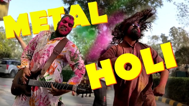METAL HOLI | Rang De Basanti | Bloodywood
