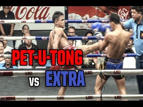 Muay Thai - Pet-U-Tong vs Extra (เพชรอู่ทอง vs เอ็กซ์ตร้า), Rajadamnern Stadium, Bangkok, 22.3.18.