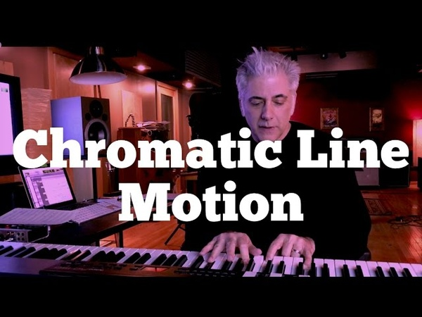 The Music of James Bond - Chromatic Line Motion