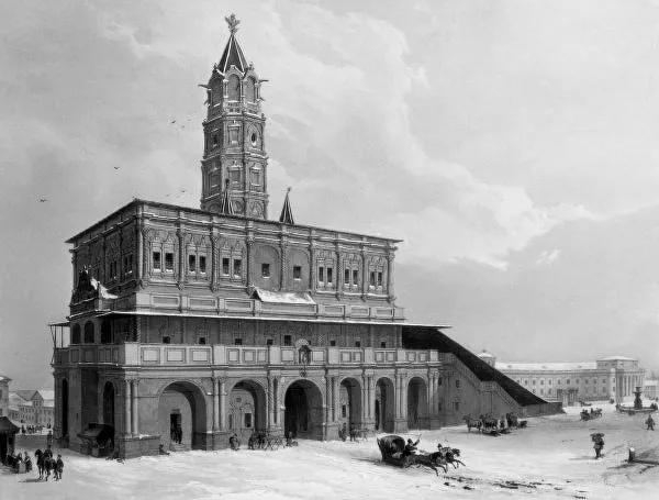 МОСКВА В СТРАХЕ: КАКОЕ ПОСЛАНИЕ ОСТАВИЛ КОЛДУН С СУХАРЕВОЙ БАШНИ Историки и архитекторы обсуждают проект восстановления столичной Сухаревой башни, где, как говорят, сподвижник Петра I