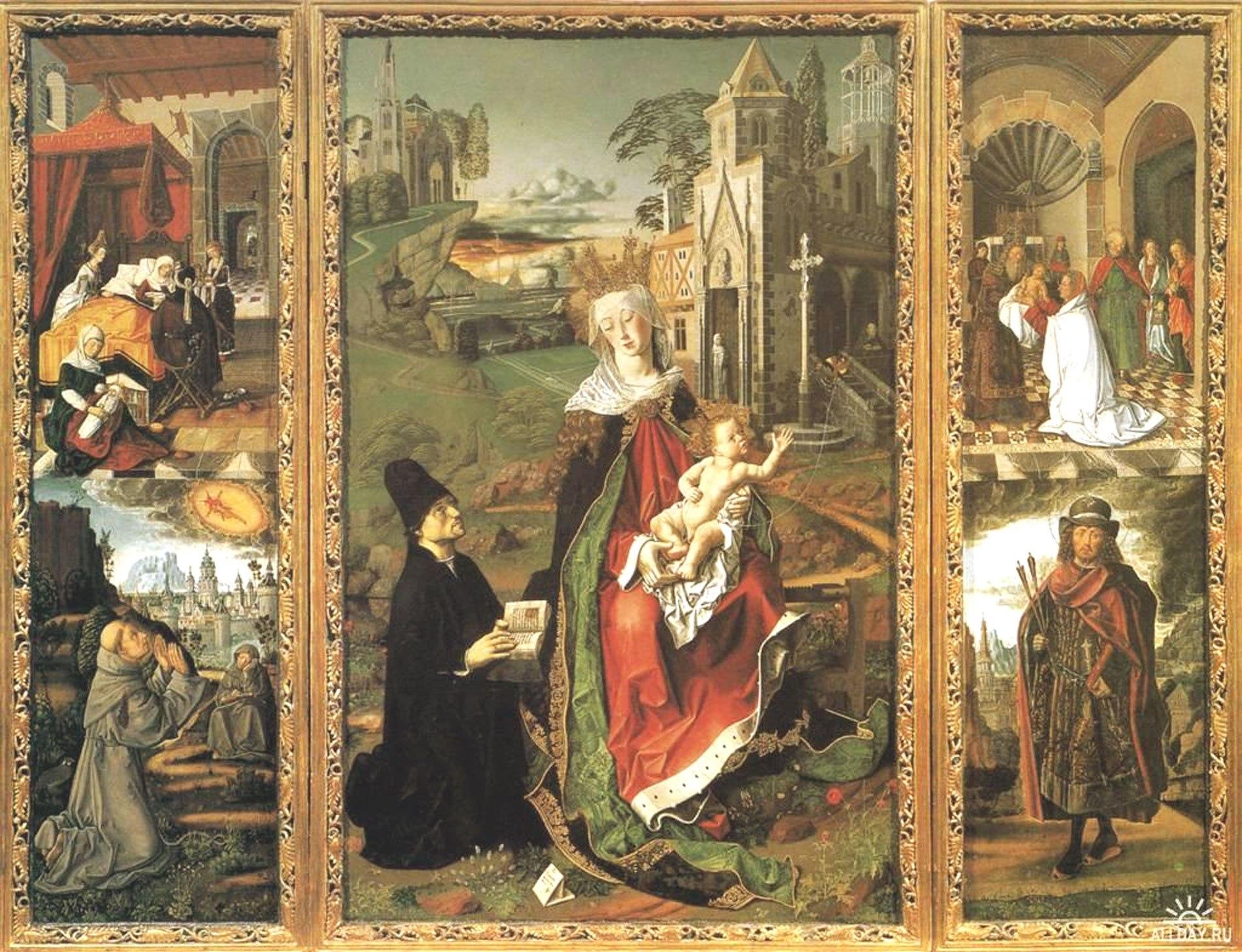 Живопись и скульптура готического периода рисунки 4