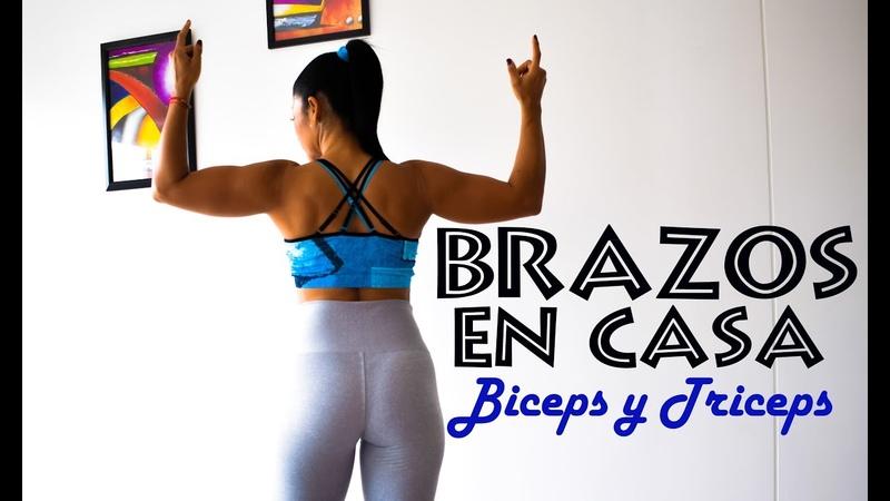 EJERCICIOS PARA BRAZOS EN CASA - Rutina bíceps y tríceps | Rutina 677 | Dey Palencia Reyes