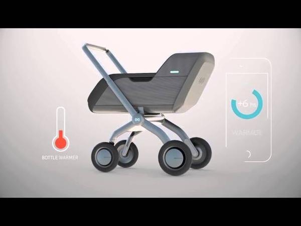 Smartbe Intelligent Stroller – самая умная коляска в мире