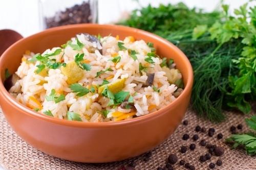 Готовим дома. Овощное рагу с рисом.