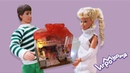 МИНИАТЮРНЫЙ КУКОЛЬНЫЙ ДОМ для МИНИ ЛОЛ DIY Miniature Dollhouse Bedroom with a Bunk Bed