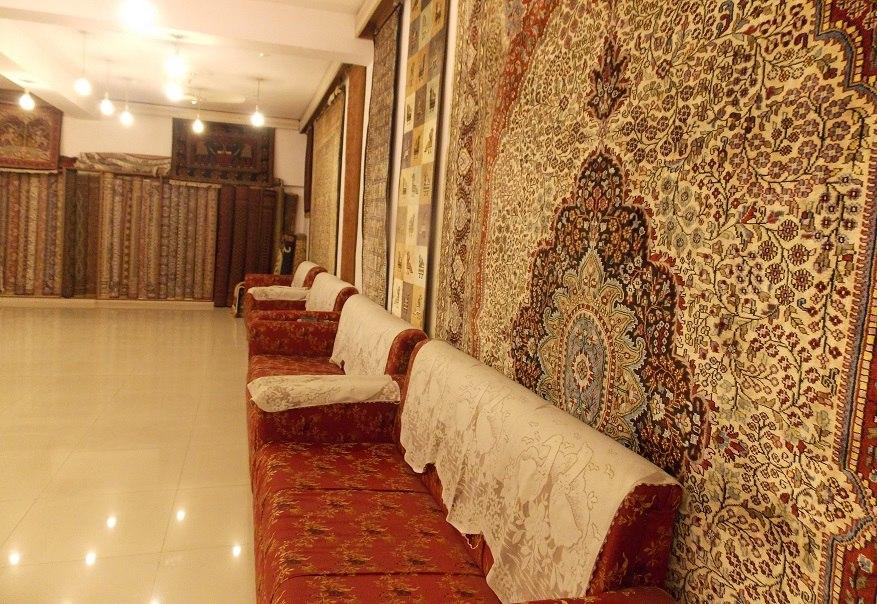 ковры. склад готовый изделий
