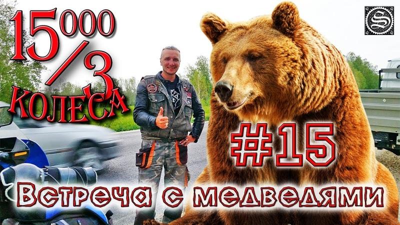 15000 на 3 колеса. День 15. Омск-Барабинск.