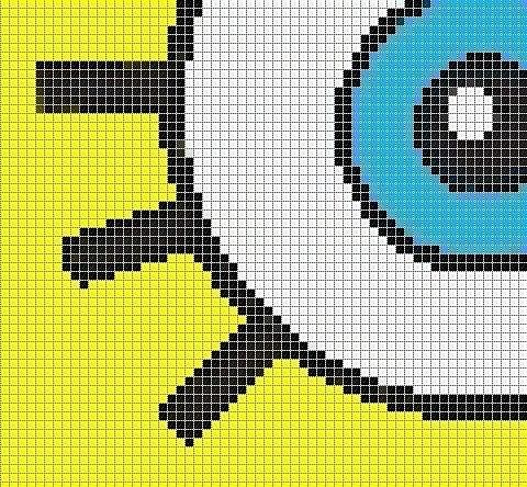 """Схемы прямого плетения """"Sponge"""