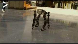 """Код Дурова on Instagram: """"Энтузиасты создали робота, который самостоятельно учится кататься на коньках. Разработчики уверяют, что уже в ближайшем б..."""