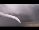 4k video CRAZY elephant trunk tornado from birth through rope out in eastern Colorado