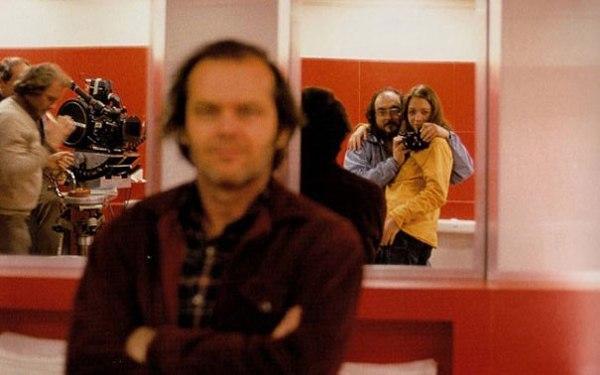 Стенли Кубрик делает селфи с дочерью