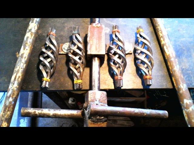 Самодельное , ручное приспособление для изготовления шишек - корзинок , без токарных работ.