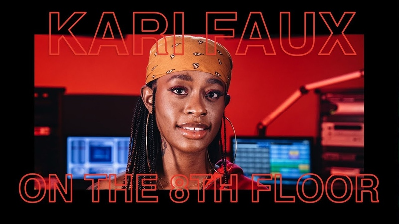 Kari Faux Performs Leave Me Alone LIVE   ON THE 8TH FLOOR