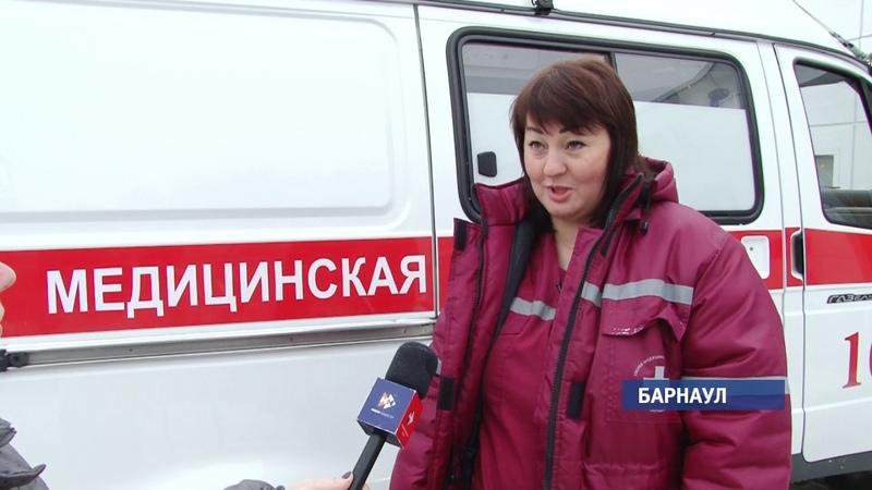 Лучший врач скорой помощи Светлана Дородная больше двадцати лет спасает жизни (Barnaul22)