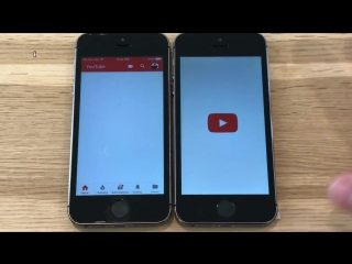 iPhone 5S _ iOS 9.3.5 vs iOS 10.3 with APFS (Build 14E277) Performance _ Speed T
