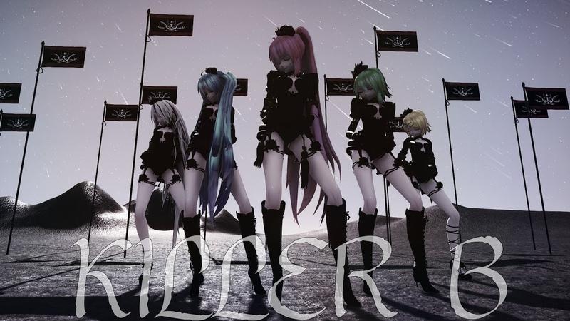 【MMD    DL】KILLER B Divine Diva [ MODEL DL]