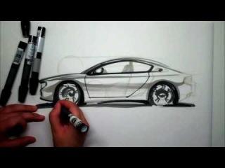 Tutorial proporciones de carro en vista lateral