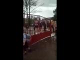Ученики школы №5 в Белореченске оказались в водной ловушке после дождя.
