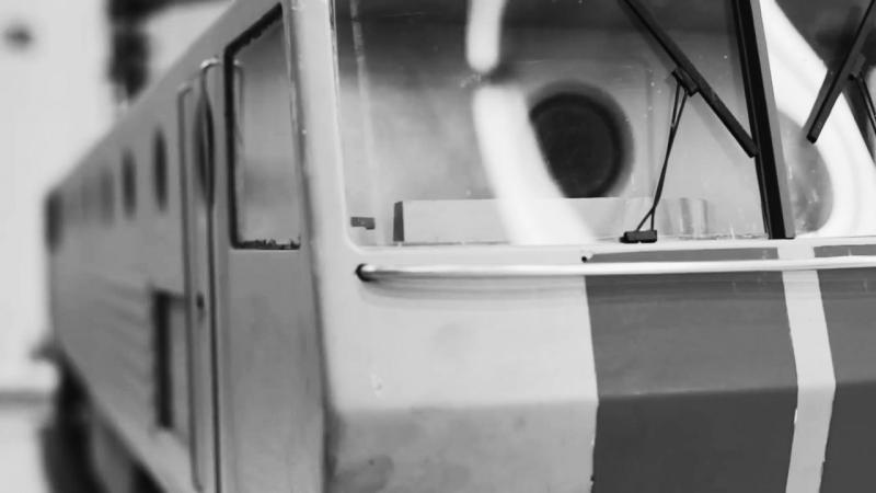 Макет тепловоза ТЭ-127. Автор проекта: Г.Е. Халдин
