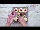 Корзинки с творожным кремом | Больше рецептов в группе Кулинарные Рецепты