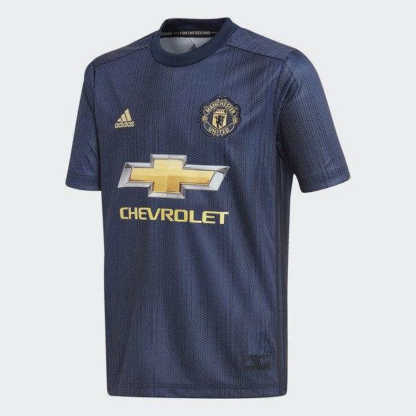 Третья игровая футболка Манчестер Юнайтед