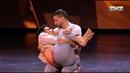 Танец Павла и Вахтанга на кастинге шоу танцы на тнт