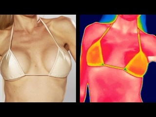 Fake Vs. Natural Boobs: Can Thermal See The Difference?