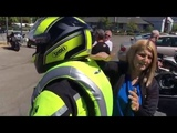 Helite Airbag Demonstration at Hansen's Motorcycles in Medford Oregon