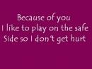 Kelly_Clarkson_-_Because_of_You_lyrics_