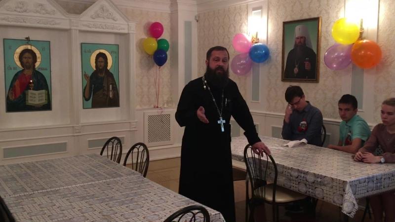 Приветственное слово перед выпускным о. Александра Поляшова