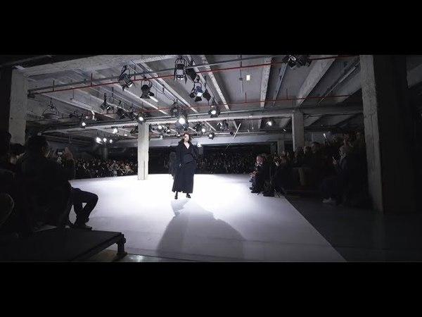 Yohji Yamamoto A W18 19 Show Footage Multi cam version