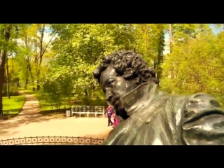 На фоне Пушкина снимается семейство.... Булат Окуджава
