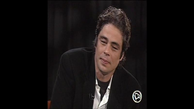 Бенисио дель Торо в актерской студии