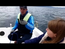 Небанальная прогулка на яхте по озеру Тургояк Повезло с рулевым и погодой Осень Сентябрь 2018