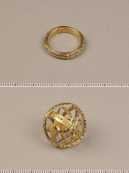 Кольцо, раскладывающееся в астрономическую сферу.
