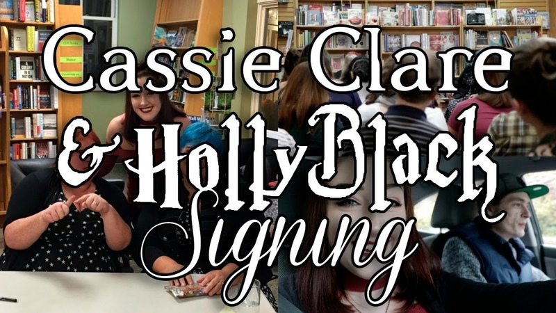 MAGISTERIUM EVENT WITH CASSANDRA CLARE AND HOLLY BLACK.