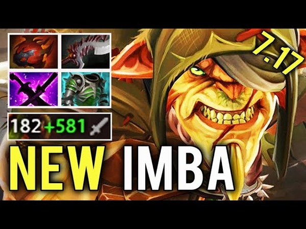 NEW IMBA 7.17 Bristleback WTF 90 Damage Per Stack Free Rapier EPIC Crazy Gameplay by Chessie Dota 2